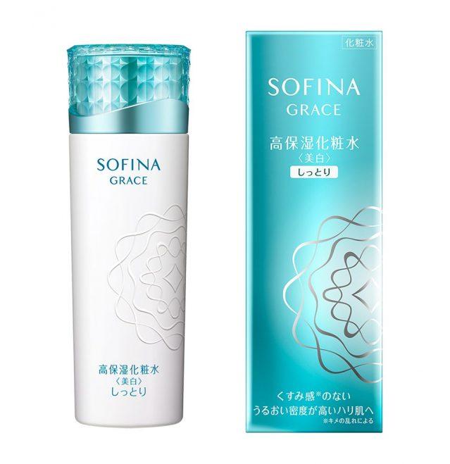 ソフィーナグレイス 高保湿化粧水 50代 美白化粧品 おすすめ