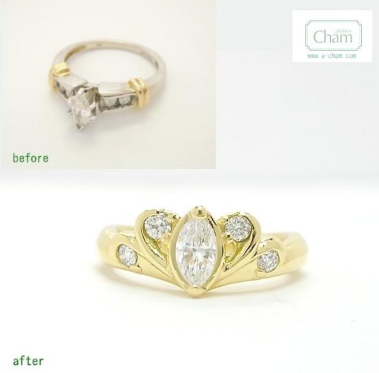 ダイヤモンドリング 加工料金 結婚