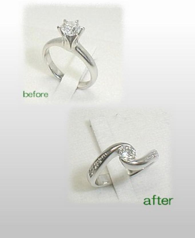 ダイヤモンドリング 加工料金 爪